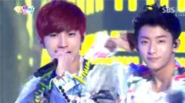 baby good night (121229 sbs gayo daejun) - b1a4