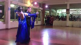 slow waltz 1 (sagadance 191212) - dancesport