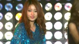 lovey dovey (120218 music bank in paris) - t-ara