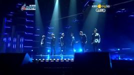 fiction, on rainy day (120222 gaon chart k-pop awards) - beast