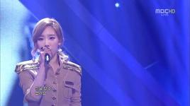 missing you like crazy (120428 music core) - tae yeon (snsd)
