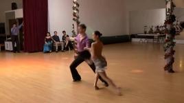 falling into you (rumba) - gavin, lucy, dancesport