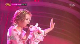rose (130427 music core) - lee hi