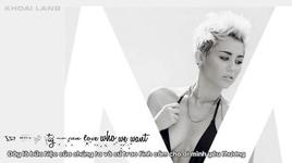we can't stop (vietsub, kara) - miley cyrus