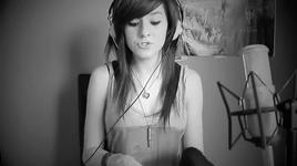 safe and sound (taylor swift cover) - christina grimmie