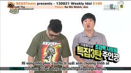 weekly idol (tap 109) (vietsub) - v.a, beast