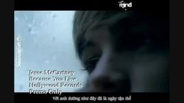 because you live (kara, vietsub) - jesse mccartney