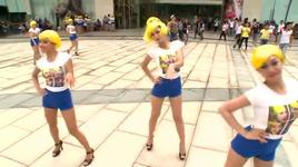 dong nhi nhay flash mob single ladies - dong nhi