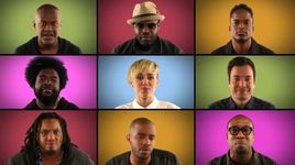 we can't stop (acappella) - miley cyrus, jimmy fallon, the roots