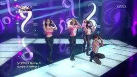 because i know & number 9 (131011 music bank) - t-ara