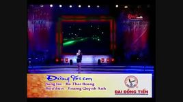 dung doi em (live) - truong quynh anh