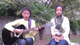 skyfall (adele cover) - chloe and halle