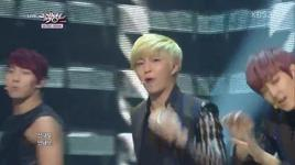she's mine (131122 music bank) - u-kiss