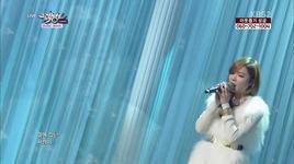 frozen (131206 music bank) - shin bora
