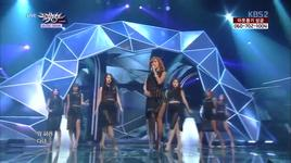 one way love (131206 music bank) - hyorin (sistar)