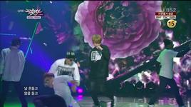 flower (131213 music bank) - jun hyung (beast)