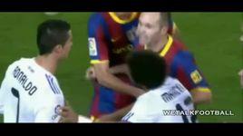 tong hop cac tran dau bao luc giua real madrid & barcelona - v.a
