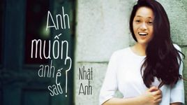 anh muon anh e sao? (anh muon em song sao parody) - nhat anh