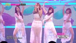 one way love (131221 music core) - hyorin (sistar)