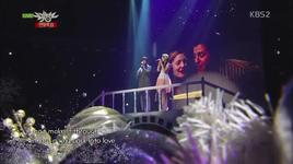 way back into love (131220 music bank year end special) - suzy (miss a), junho (2pm)