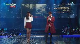 sleigh ride (131220 music bank year end special) - eun ji (a pink)