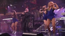 echa pa'lla (manos pa'rriba) (live on letterman) - pitbull