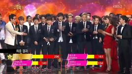 song of the year (131227 kbs gayo daejun) - exo