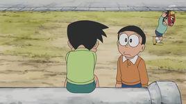 doraemon tap 282: dau than duoi quy & tam biet shizuka-chan - doraemon