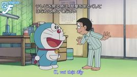 doraemon tap 314: papa, nobita va con song co sake boi loi & ten lua trung phat den day - doraemon