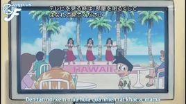 doraemon tap 327: du lich hawai cung hat de & bo canh cua shizuka-chan - doraemon