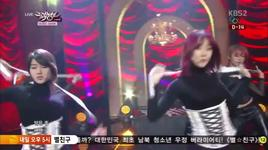 cha cha (140124 music bank) - rainbow blaxx