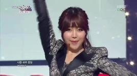 b.b.b (140207 music bank) - dal shabet