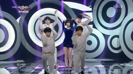 truth or dare (140207 music bank) - ga-in (brown eyed girls)