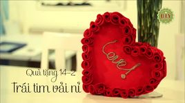 diy let's go - valentine 2014 - trai tim tu vai ni xinh xan - v.a