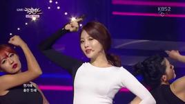 something (140214 music bank) - girl's day