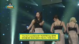 you don't love me (140212 show champion) - spica