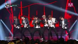 boys in luv (140220 m countdown) - bts (bangtan boys)
