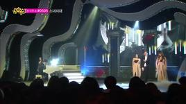 full moon (140315 music core) - sunmi, san e