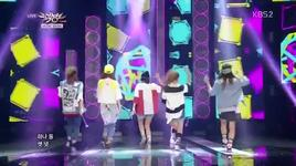 wait a minute (140321 music bank) - 4minute
