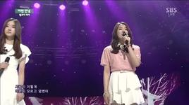 another parting (140330 inkigayo) - melody day