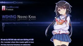 wishing (nightcore) - kana nishino
