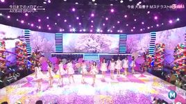 kyou made no melody & heavy rotation (140321 music station) (vietsub, kara) - akb48