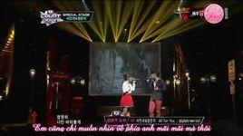 all for you (120906 m!countdown) - seo in guk, eun ji (a pink)