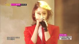 never ever (140524 music core) - ji yeon (t-ara)
