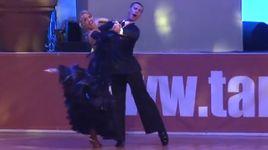 slow foxtrot - paolo bosco & joanne clifton (euro dance festival 2014) - dancesport