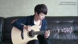 gangnam style bang dan guitar cuc dinh - sungha jung
