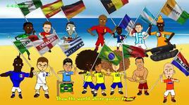le khai mac world cup vui nhon bang hoat hinh - v.a