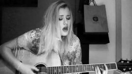 kiss me (ed sheeran cover) - lilly ahlberg