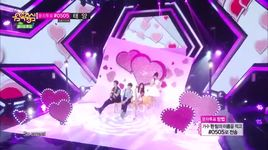 a midsummer night's sweetness (140614 music core) - san e, raina