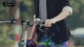 anh chi co xe dap thoi (lyrics) - hand leajung, hoang bach